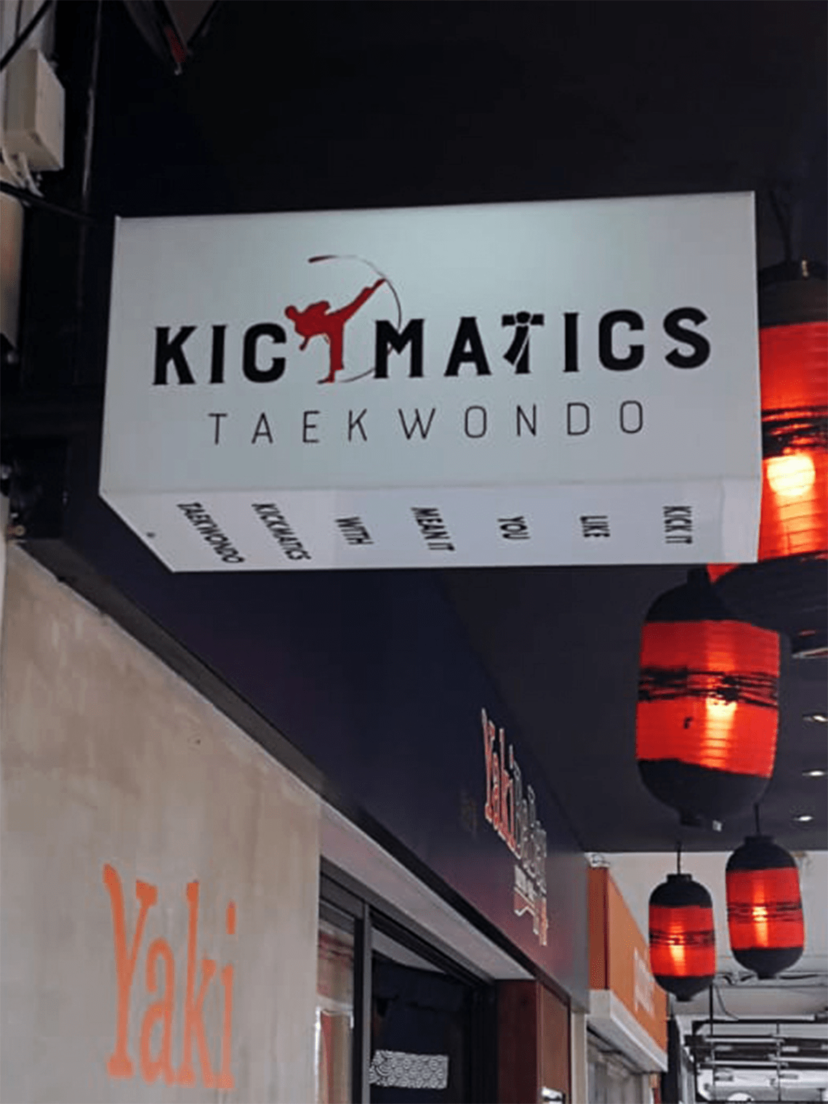 kickmatics taekwondo