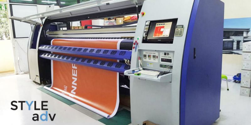 High quality Signage Printer Style Adv with latest technology