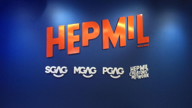 3d acrylic signage for hepmil singapore