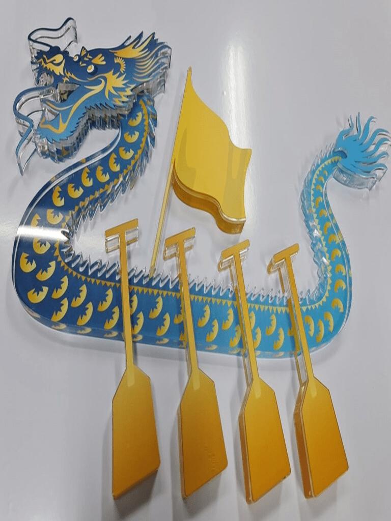 3d lasercut acrylic