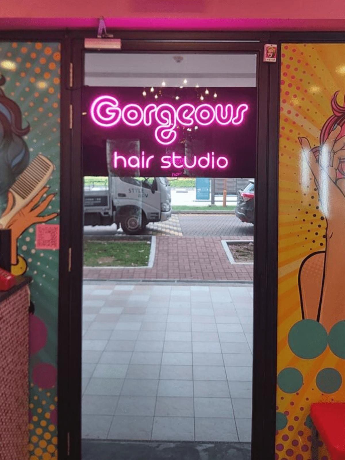 gorgeous hair salon