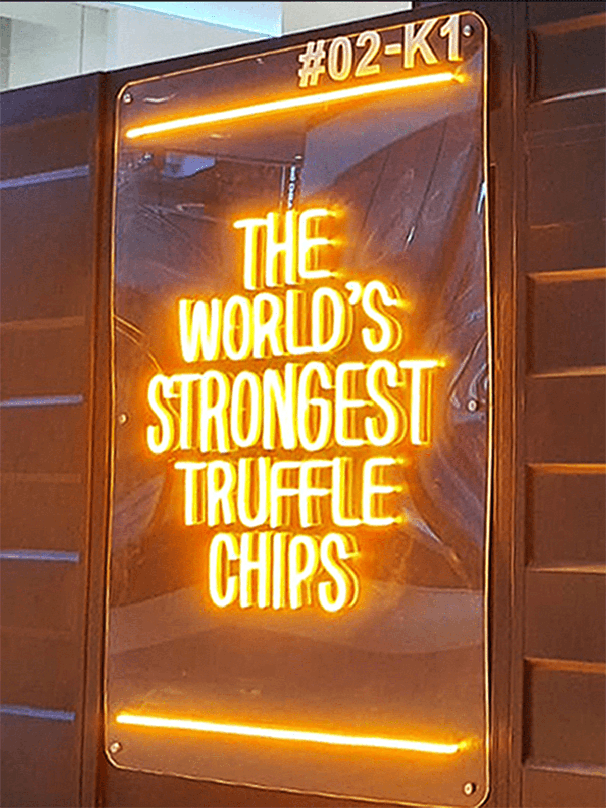 the world's strongest truffle chips