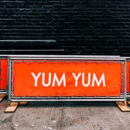 restaurant signage